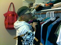 Shopping in my closet