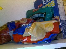 Goodbye chips in my pantry