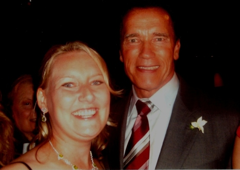 Lisa Traugott and Arnold Schwarzenegger - 2008