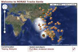 NORAD Map