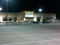 parking lot - empty