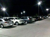 parking lot - full