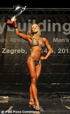 IFBB European Champion Magdalena Kazimirova