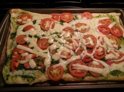 Yummy Clean Pizza!