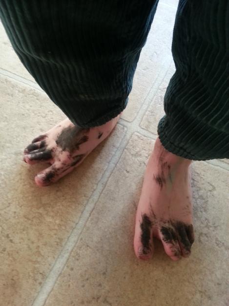 Mascara toes