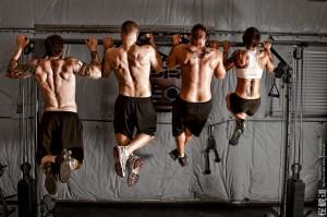 Kayln and trainers at F.U.E.L. Fitness