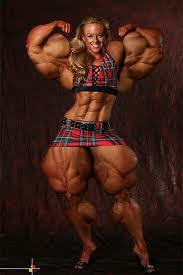 female bodybuilding sterotype