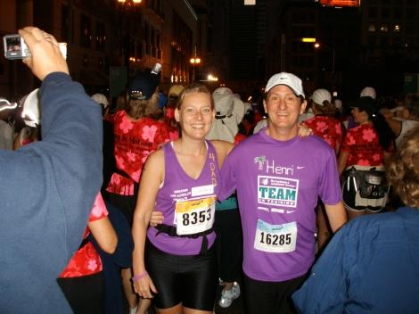 Nike Marathon with Henri
