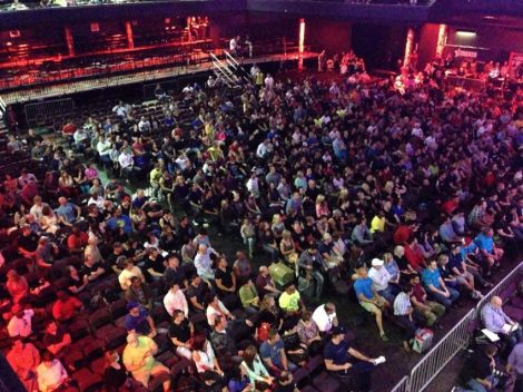 Audience at Phil Heath Classic