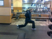 400 lunges a day - yes!