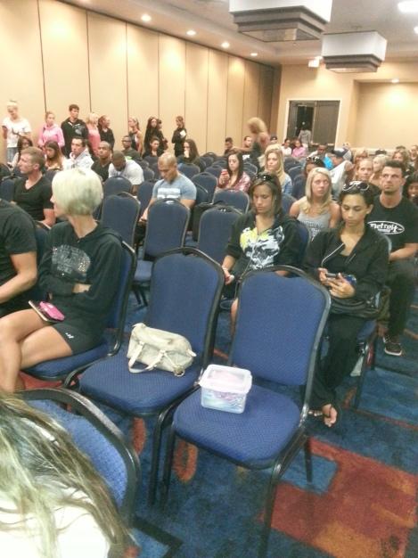 Texas Shredder - Athletes' Meeting