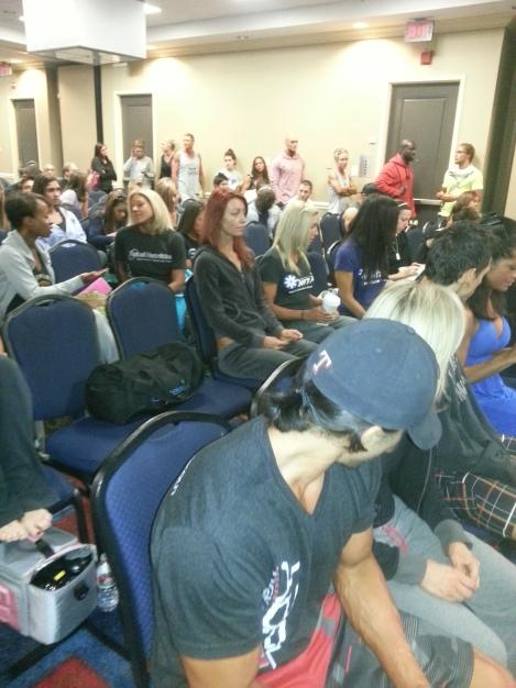 Texas Shredder - Athlete's Meeting