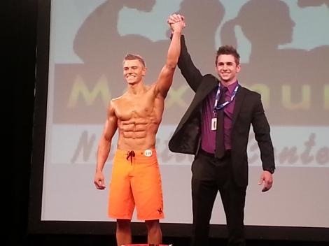 Men's Physique Overall Winner