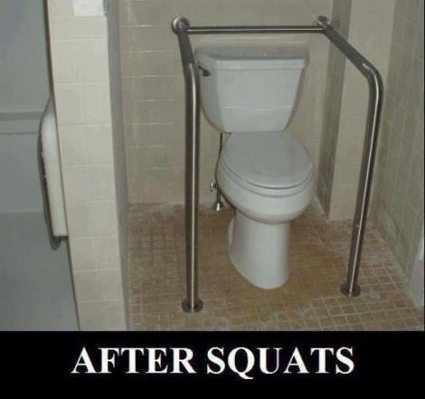 After Squats