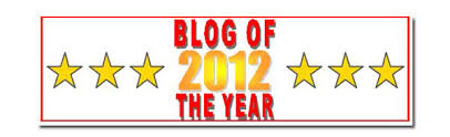 Blog of the Year - 2012