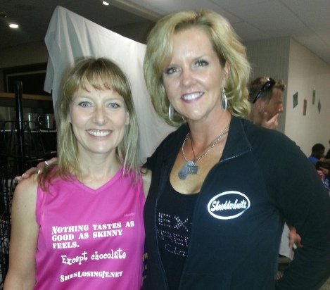 Diana Hurley and Lisa Traugott