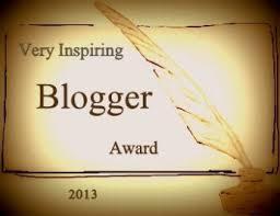Very Inspiraing Blogger Award