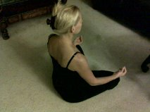 I will fix my posture.  I will fix my posture.  I will fix my posture.