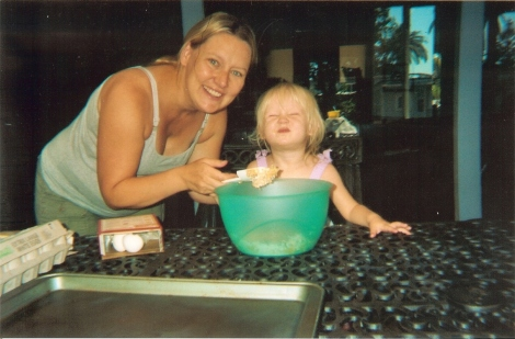Lisa with Rylee - 2009