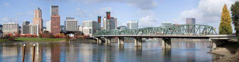 Portland, Oregon.  Photo Credit: Wikipedia