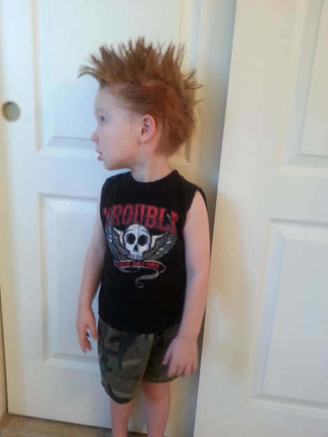 Little Henry - Crazy Hair Day