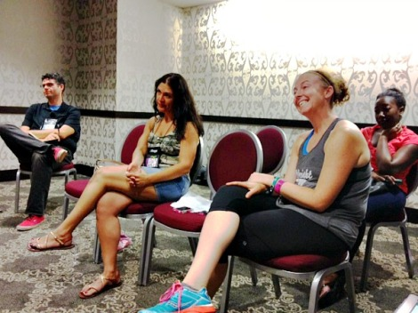 FitBloggin'13 Before and After Session