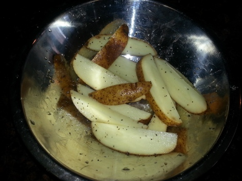 Oven Fries with Seasonings