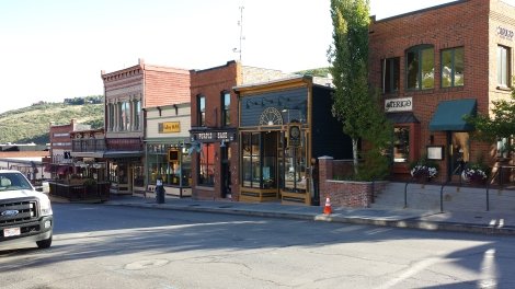 Main Street in Park City, Utah
