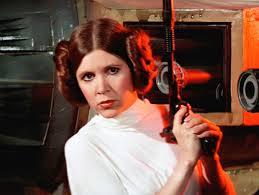 Go with the Princess Leia hair?