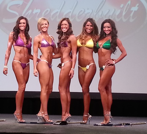 Bikini Winners - Texas Shredder