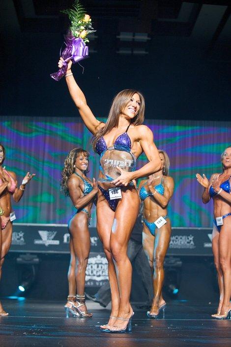 Winning Ms. Fitness America 2008