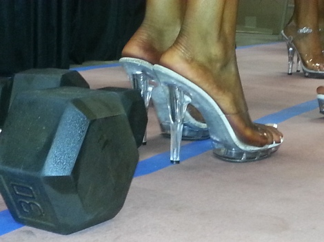 Figure and Bikini Competition Heels