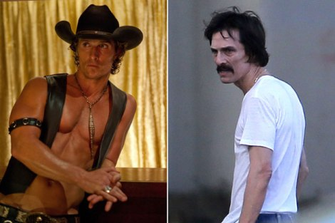 Matthew McConaughey's weight transformation